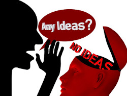 no ideas